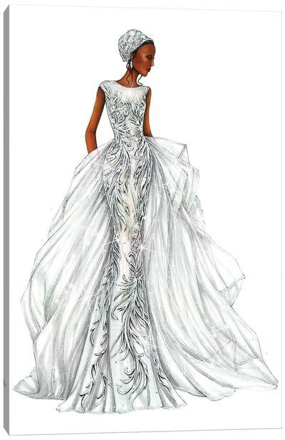 Dress II Canvas Art Print