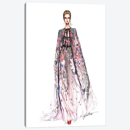 Elie Saab Fashion Week 2017 Canvas Print #ETR26} by Eris Tran Canvas Art