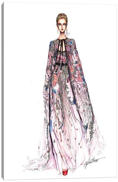 Elie Saab Fashion Week 2017 Canvas Art Print