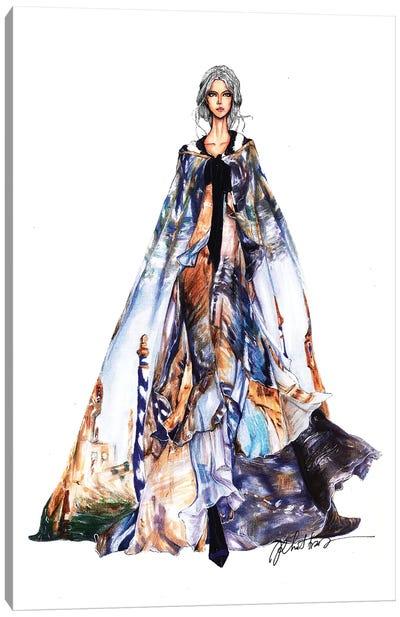 Alberta Ferretti Fashion Week 2017 Canvas Art Print