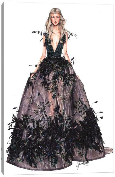 Elie Saab Haute Couture Fall 2017 I Canvas Art Print