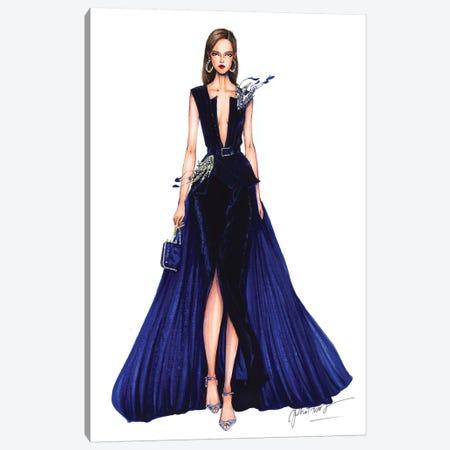 Ellie Saab Haute Couture Fall 2016 Canvas Print #ETR34} by Eris Tran Canvas Print