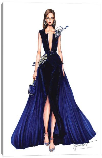 Ellie Saab Haute Couture Fall 2016 Canvas Art Print