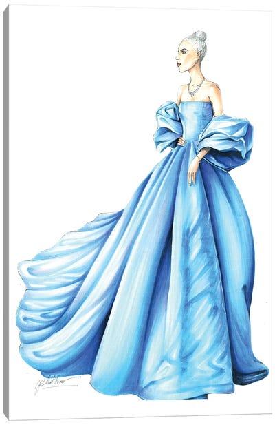 Gaga Golden Globe Canvas Art Print