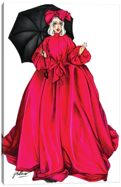 Gaga Met Gala Canvas Art Print