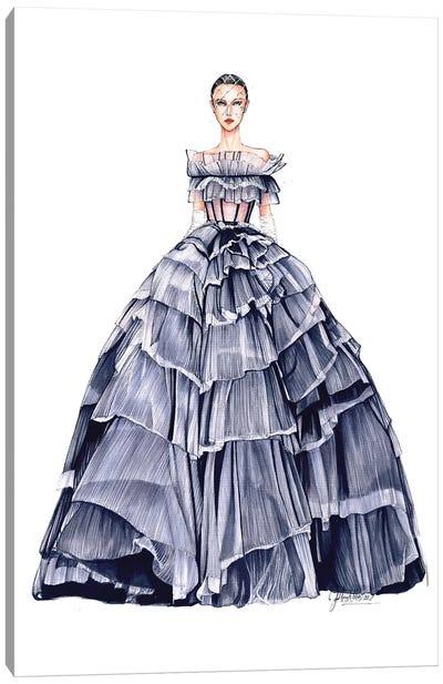 Galia Lahav Haute Couture Canvas Art Print