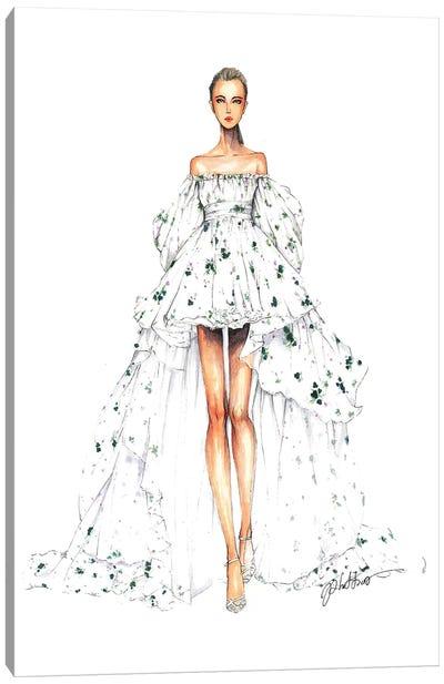Giambatistta Valli Haute Couture Fall 2016 Canvas Art Print