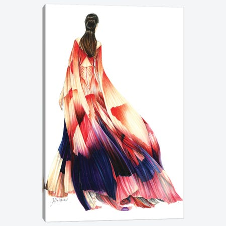 Iris Van Herpen Haute Couture 2019 Canvas Print #ETR46} by Eris Tran Canvas Artwork