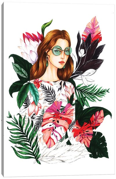 Ivy Moda I Canvas Art Print