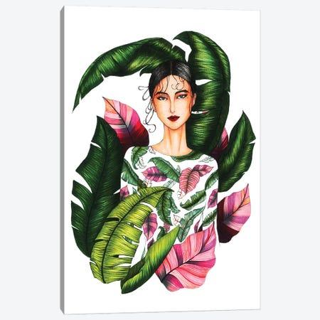 Ivy Moda II 3-Piece Canvas #ETR48} by Eris Tran Art Print