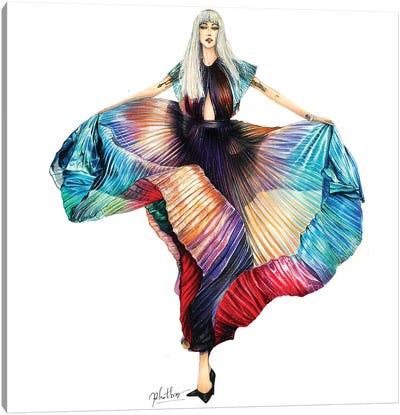 Lady Gaga Canvas Art Print