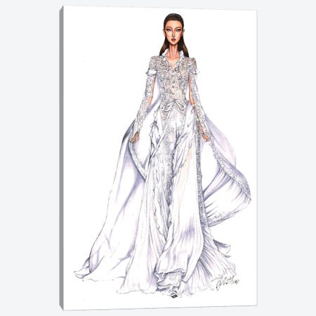 Ralph Russo Haute Couture 2018 Canvas Print #ETR58} by Eris Tran Canvas Artwork