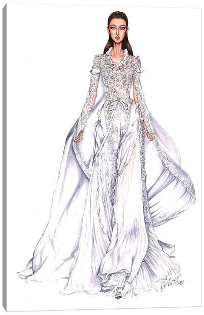 Ralph Russo Haute Couture 2018 Canvas Art Print