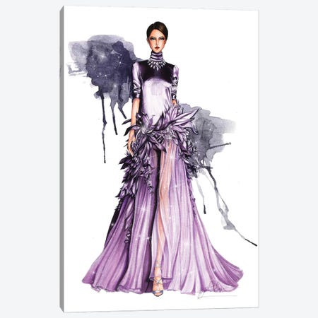 Stephane Rolland Haute Couture 2018 I 3-Piece Canvas #ETR62} by Eris Tran Art Print