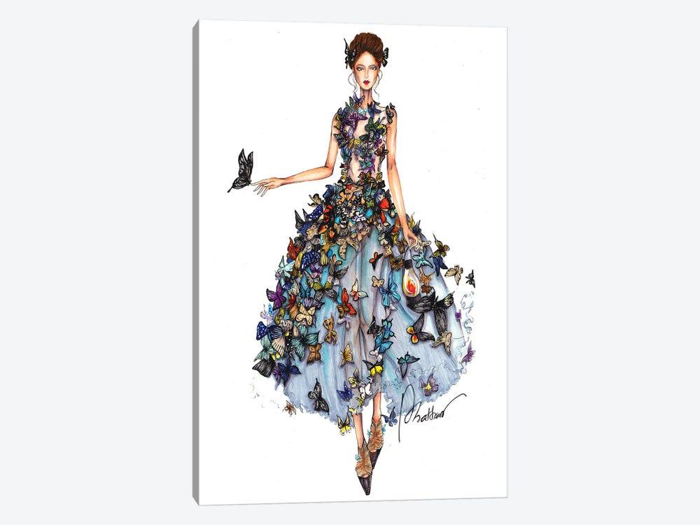Butterfly Dress II by Eris Tran 1-piece Art Print