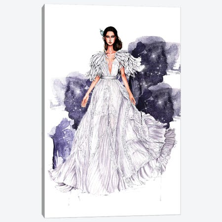 Zuhair Murad Haute Couture 2018A 3-Piece Canvas #ETR73} by Eris Tran Canvas Wall Art