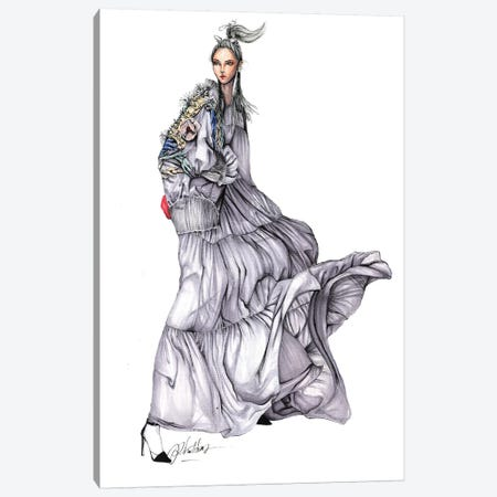 Cong Tri Haute Couture Canvas Print #ETR7} by Eris Tran Canvas Print