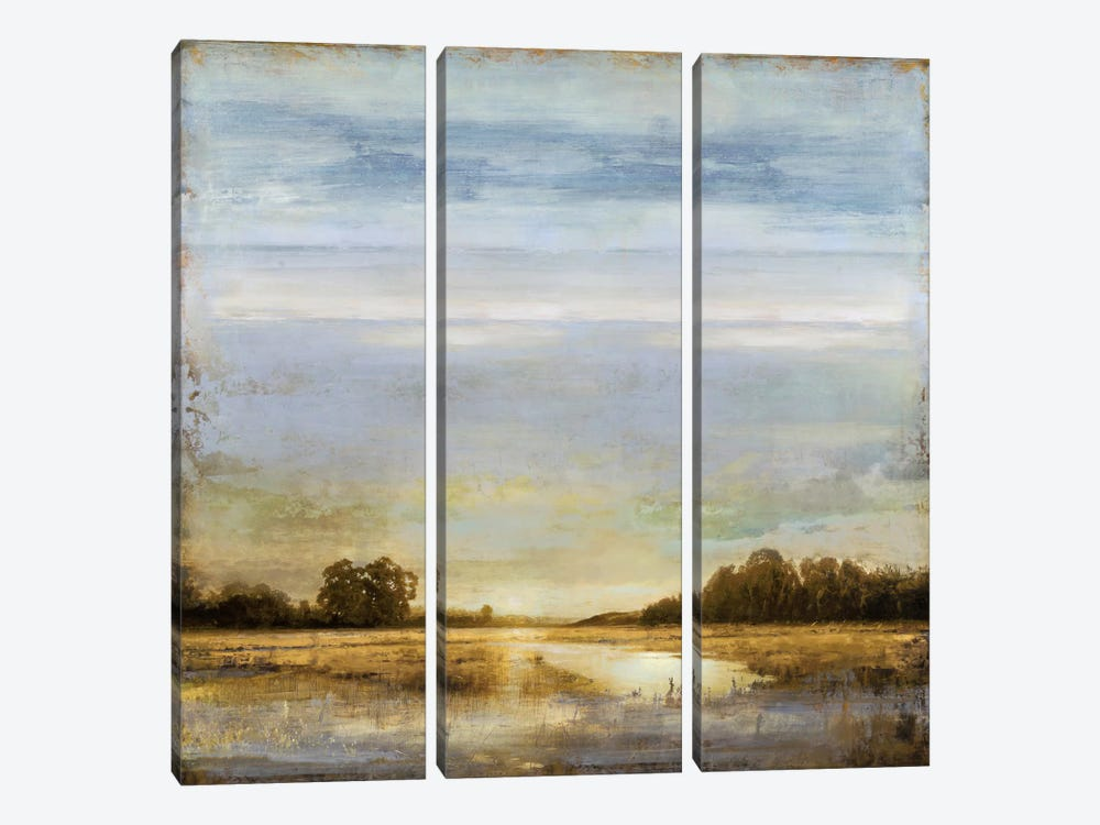 Pond's Edge by Eric Turner 3-piece Canvas Artwork