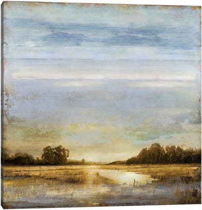 Pond's Edge Canvas Art Print