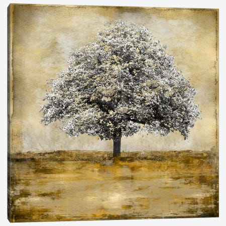 Stately - Gold Canvas Print #ETU13} by Eric Turner Canvas Print