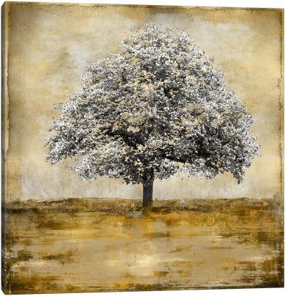 Stately - Gold Canvas Art Print