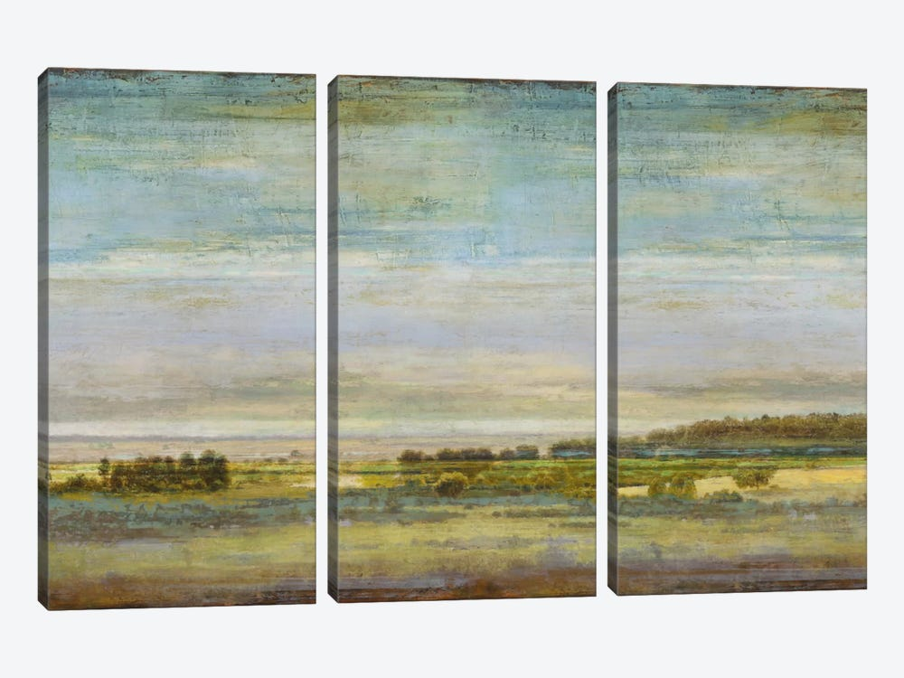 Big Sky Vista by Eric Turner 3-piece Canvas Print