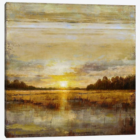 Break Of Dawn Canvas Print #ETU2} by Eric Turner Canvas Art Print