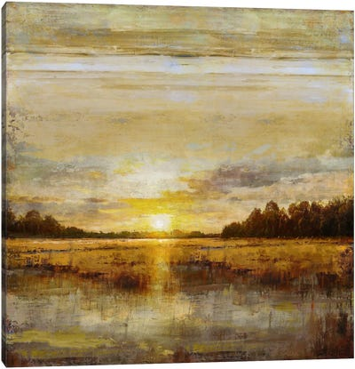 Break Of Dawn Canvas Art Print