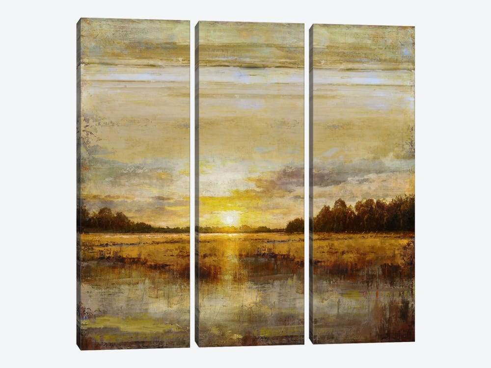 Break Of Dawn by Eric Turner 3-piece Canvas Wall Art