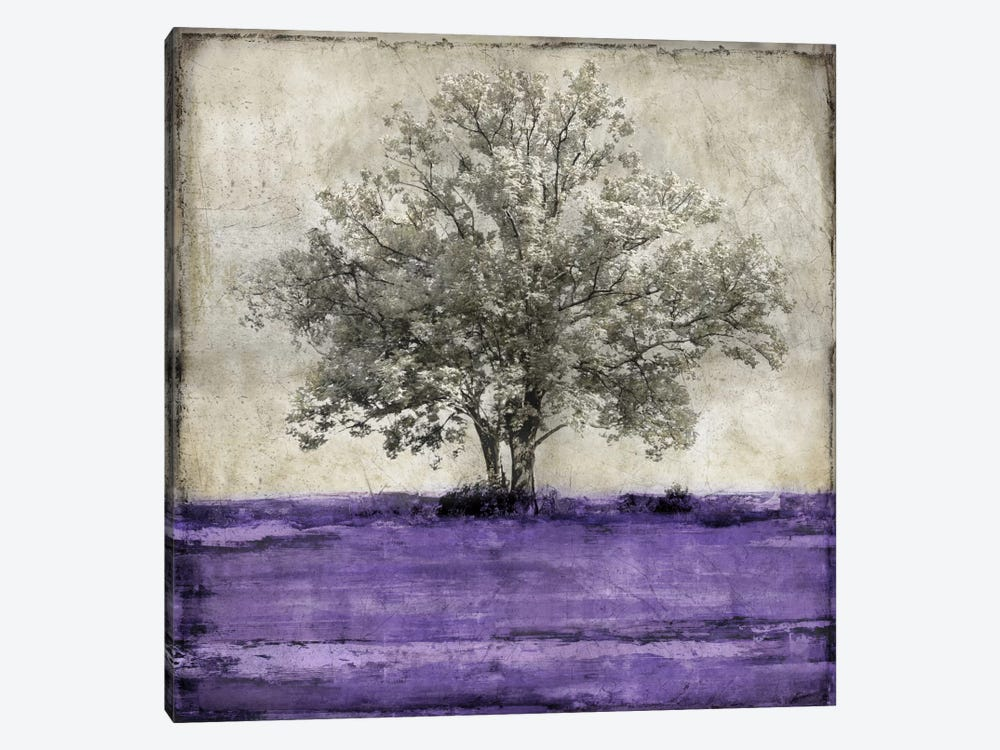 Majestic - Amethyst 1-piece Canvas Wall Art