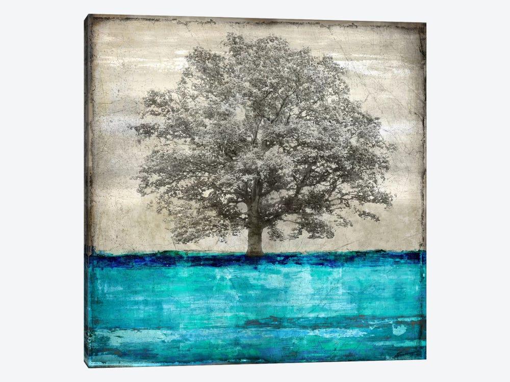 Majestic - Aqua by Eric Turner 1-piece Canvas Print