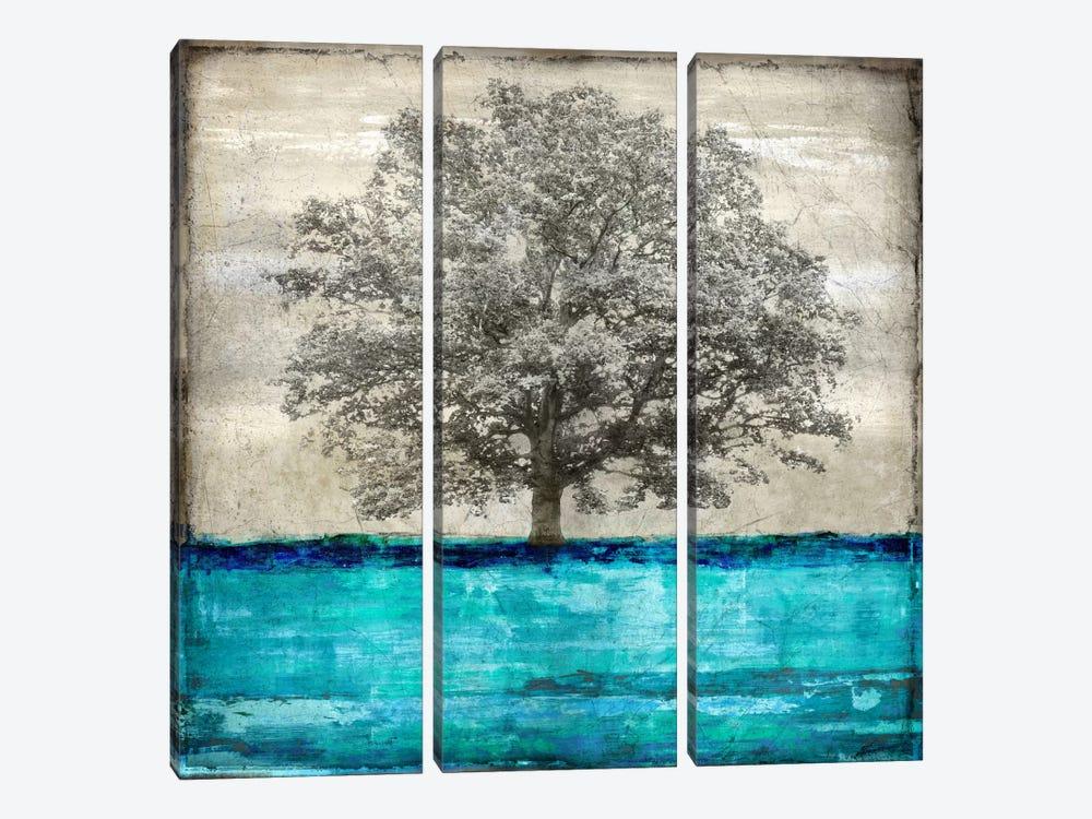 Majestic - Aqua by Eric Turner 3-piece Art Print