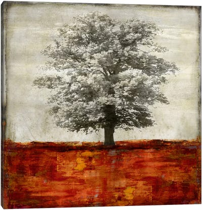 Majestic - Red Canvas Art Print