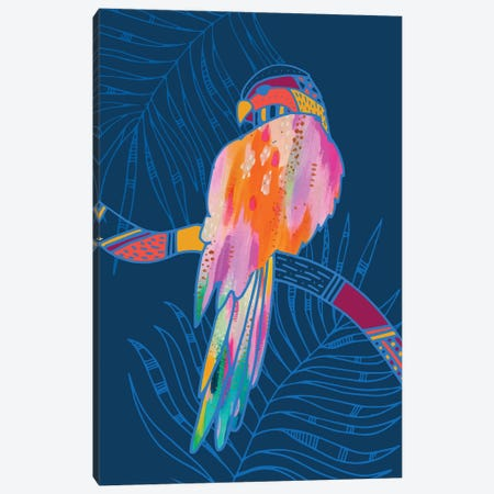 Parrot Canvas Print #ETV101} by ETTAVEE Canvas Artwork