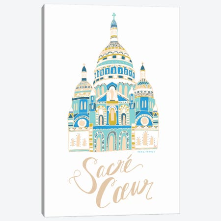 Sacré-Coeur Canvas Print #ETV103} by ETTAVEE Canvas Art