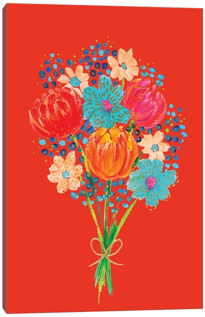 Bouquet VII Canvas Art Print