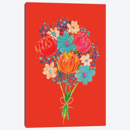 Bouquet VII Canvas Print #ETV10} by ETTAVEE Canvas Art