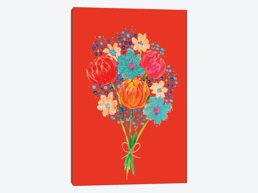 Bouquet VII by ETTAVEE 1-piece Canvas Artwork