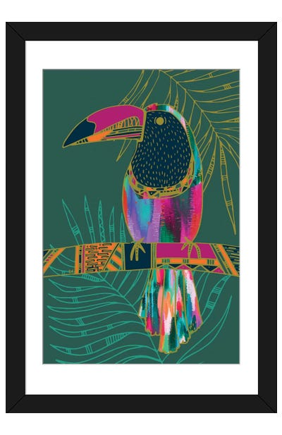 Toucan Framed Art Print