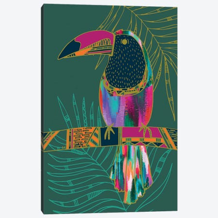 Toucan Canvas Print #ETV110} by EttaVee Art Print