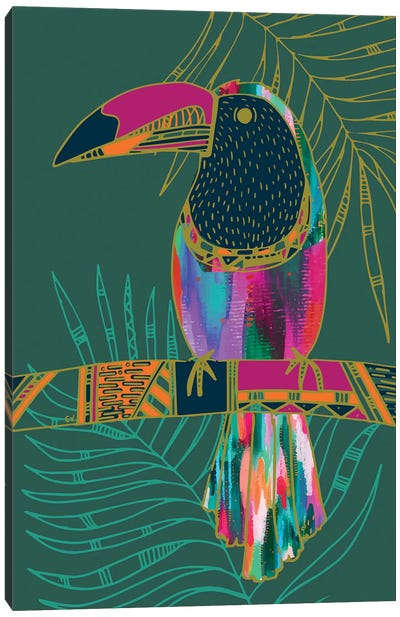 Toucan Canvas Art Print