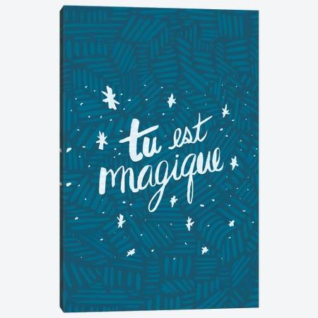 Tu est Magique, Tribal 3-Piece Canvas #ETV112} by ETTAVEE Art Print
