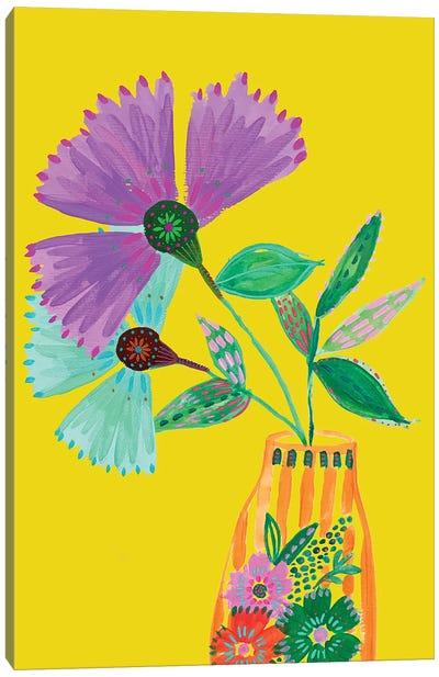 Boho Flowers II Canvas Art Print