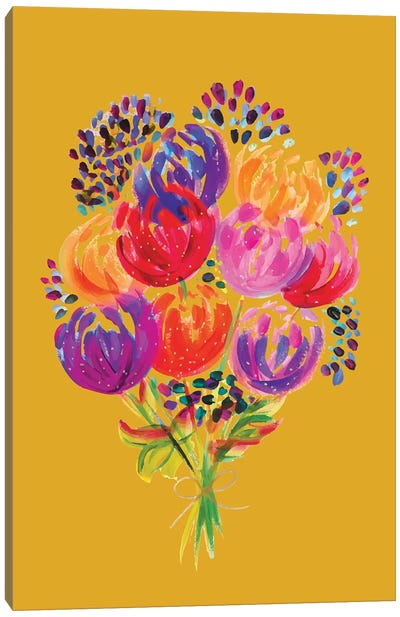 Bouquet VIII Canvas Art Print