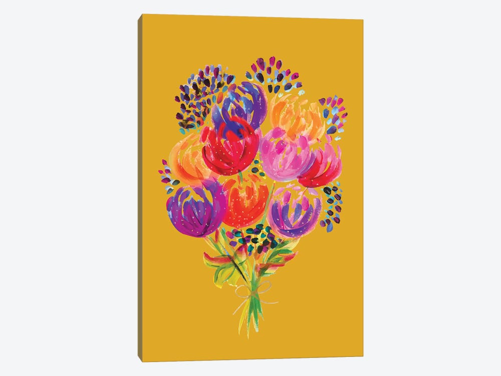 Bouquet VIII by ETTAVEE 1-piece Canvas Art Print