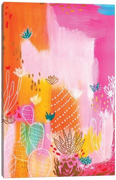 Pink Desert Canvas Art Print