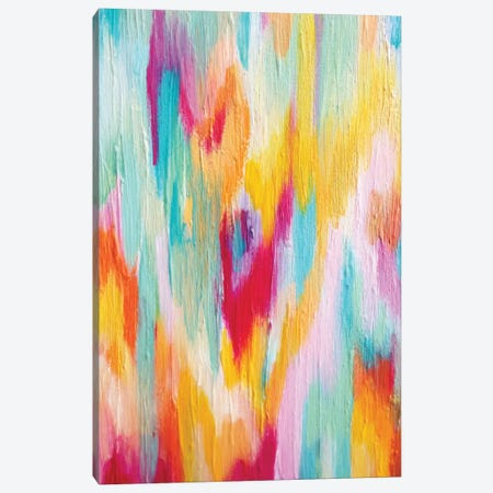Bright Brush Strokes I Canvas Print #ETV12} by ETTAVEE Canvas Art