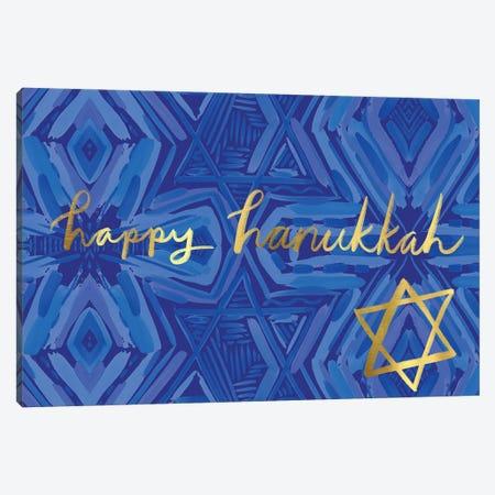 Happy Hanukkah II Canvas Print #ETV132} by ETTAVEE Canvas Print
