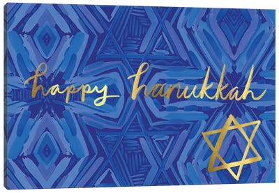 Happy Hanukkah II Canvas Art Print
