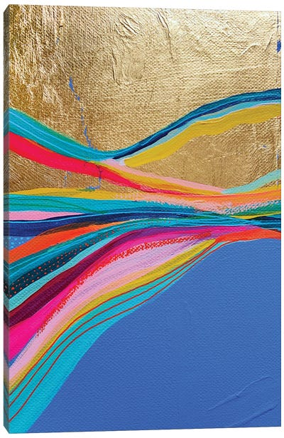 Rainbow Riviera VIII Canvas Art Print